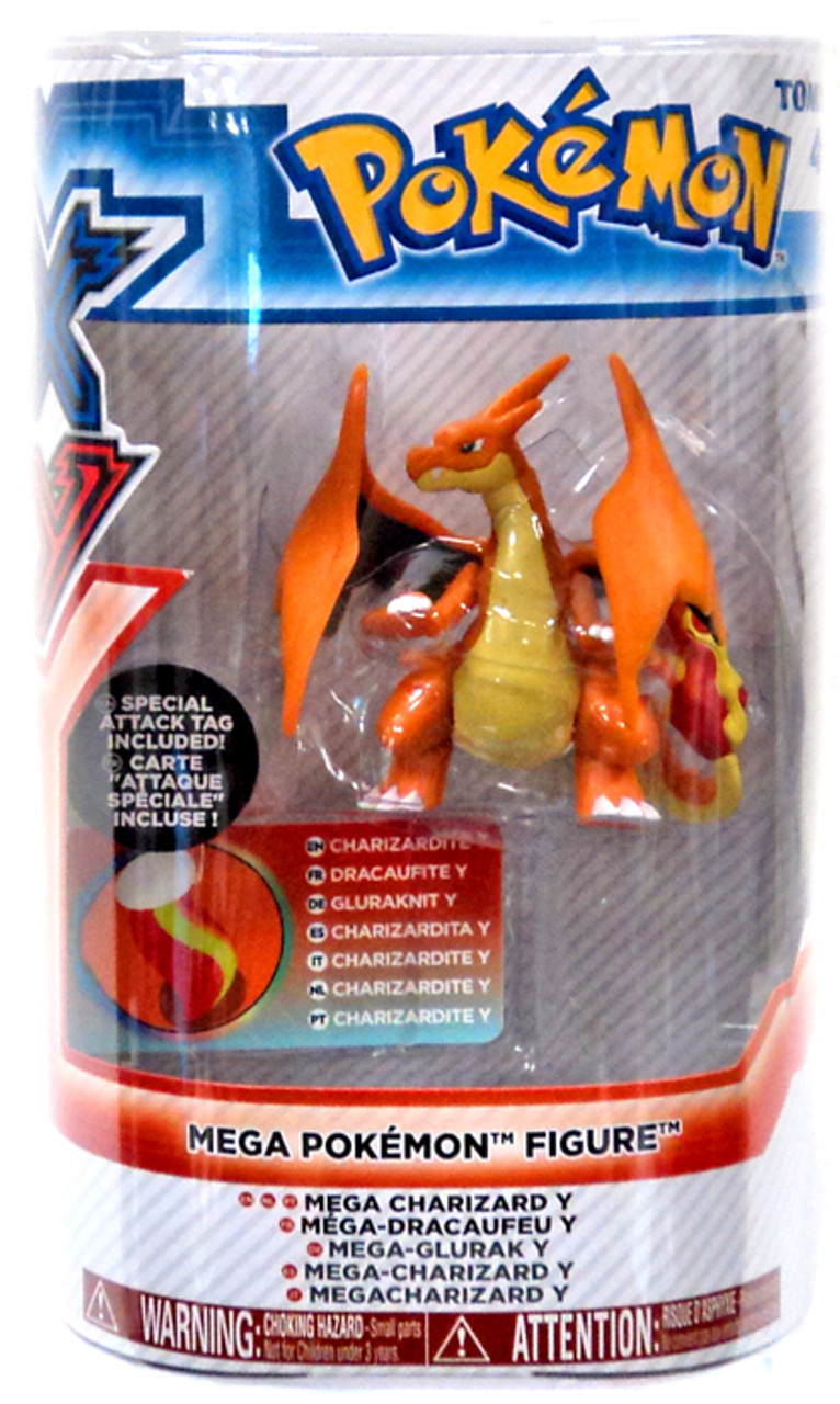 Pokemon XY Mega Figure Series 1 Charizard Y 3-Inch Figure