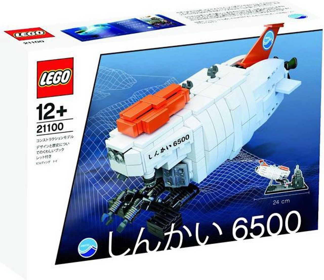 LEGO Shinkai 6500 Submarine Set #21100