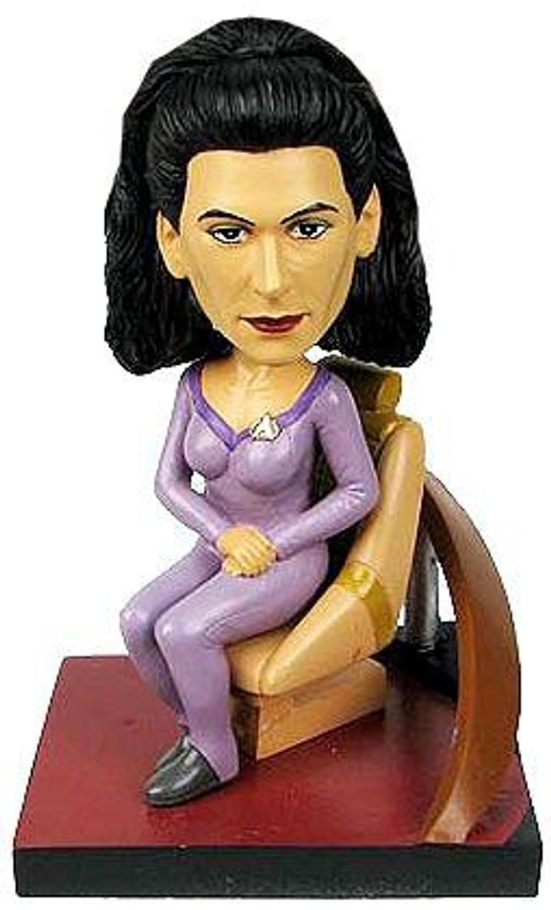 Star Trek The Next Generation Build a Bridge Deanna Troi 7-Inch Bobble Head