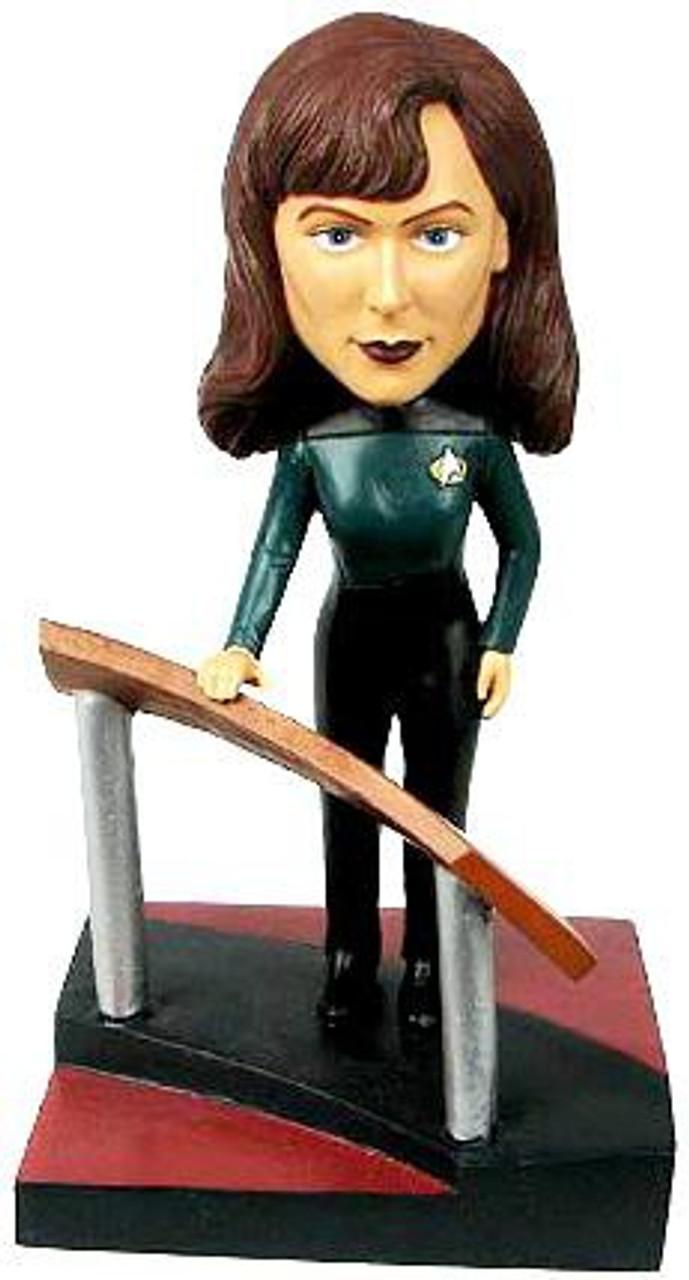 Star Trek The Next Generation Build a Bridge Dr. Beverly Crusher 7-Inch Bobble Head