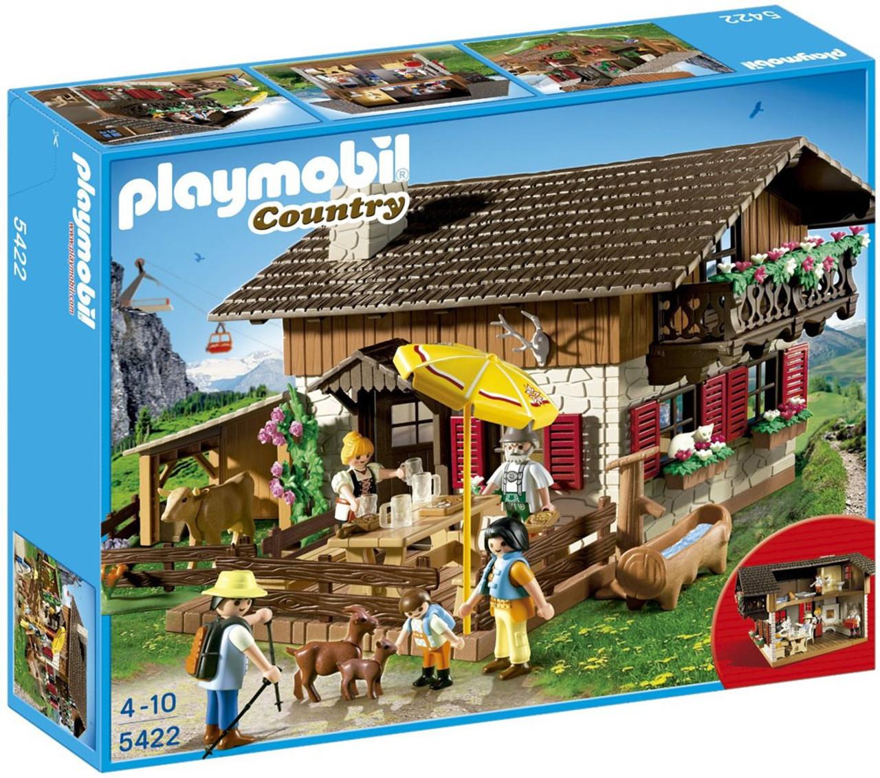 playmobil country alpine lodge set 5422 toywiz. Black Bedroom Furniture Sets. Home Design Ideas