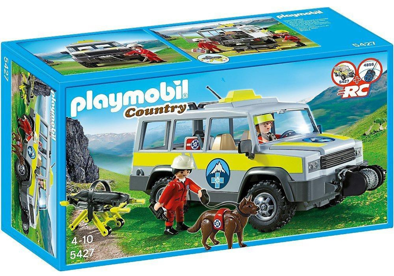 Playmobil Country Mountain Rescue Truck Set #5427