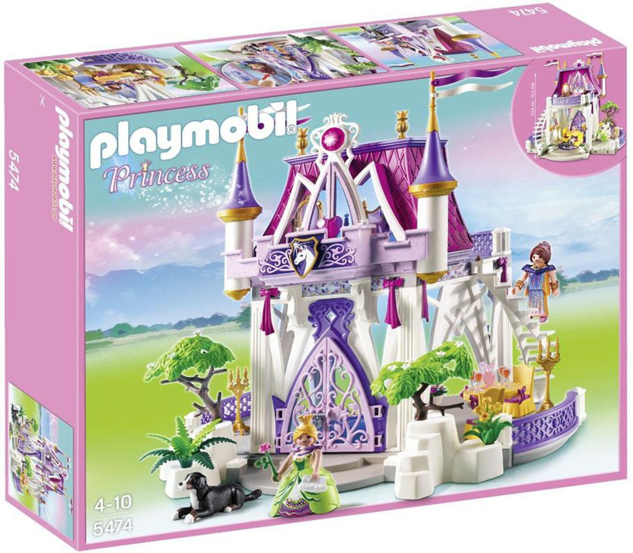 Playmobil Fairies Unicorn Jewel Castle Set #5474