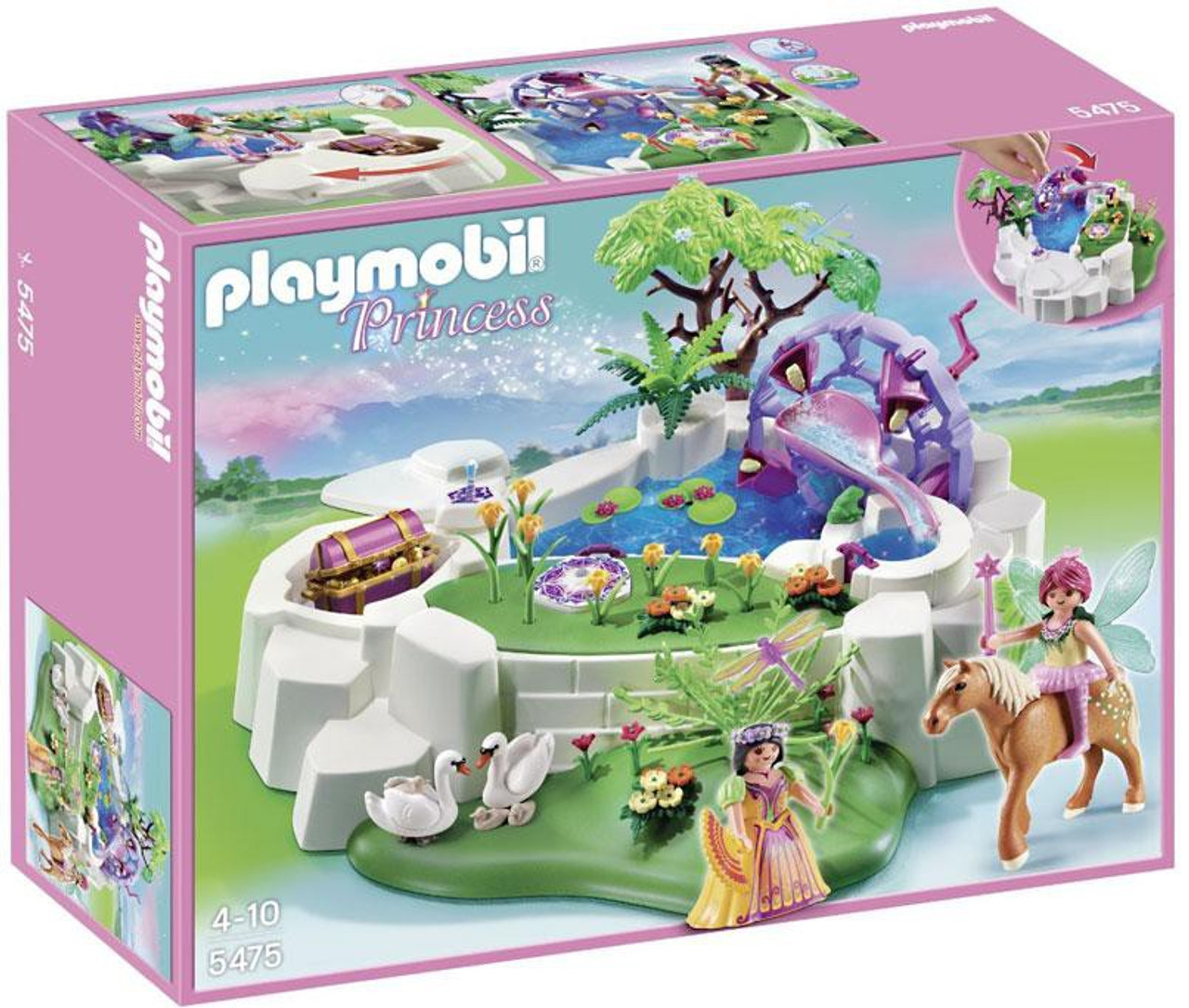 Playmobil Princess Magic Crystal Lake Set 5475 Toywiz