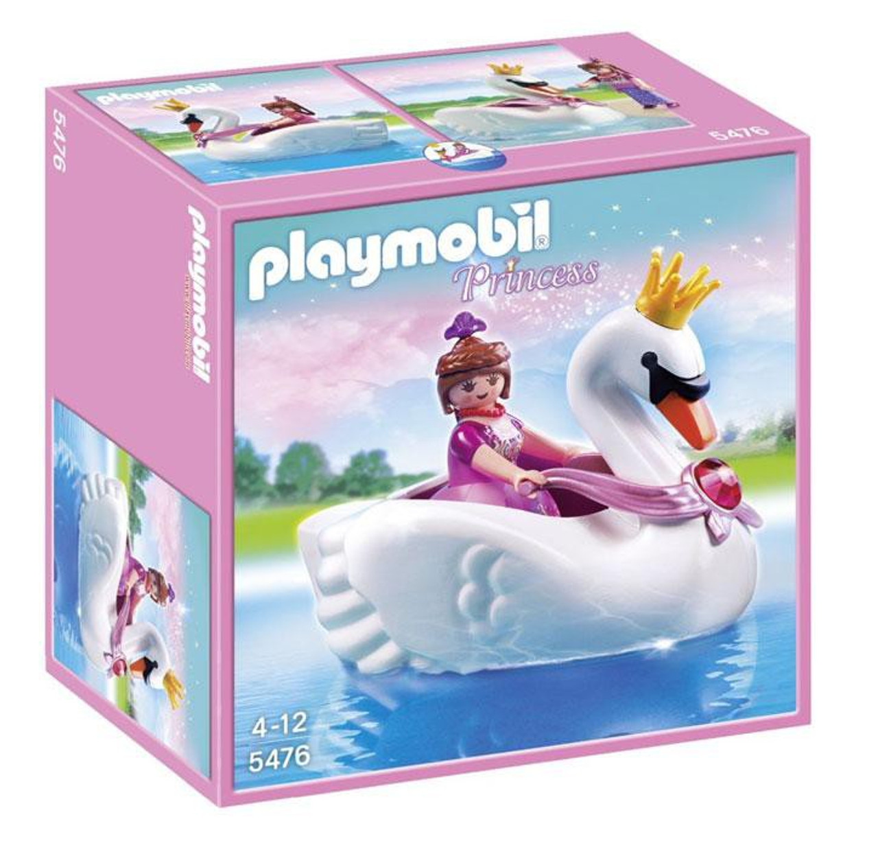 Playmobil Princess with Swan Boat Set #5476