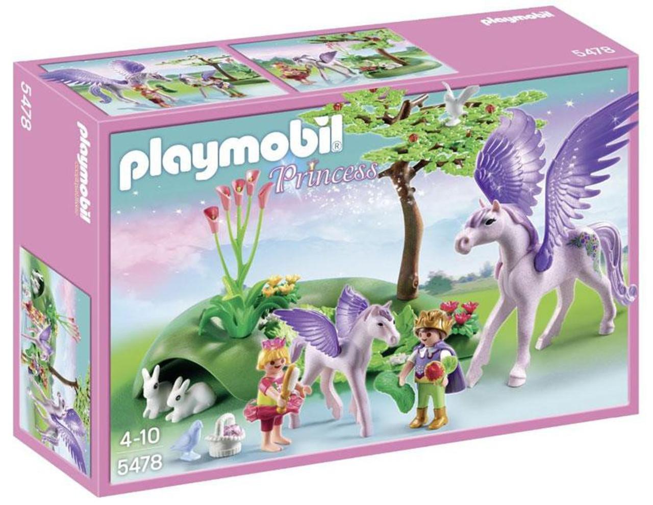 Playmobil Fairies Royal Children with Pegasus & Baby Set #5478