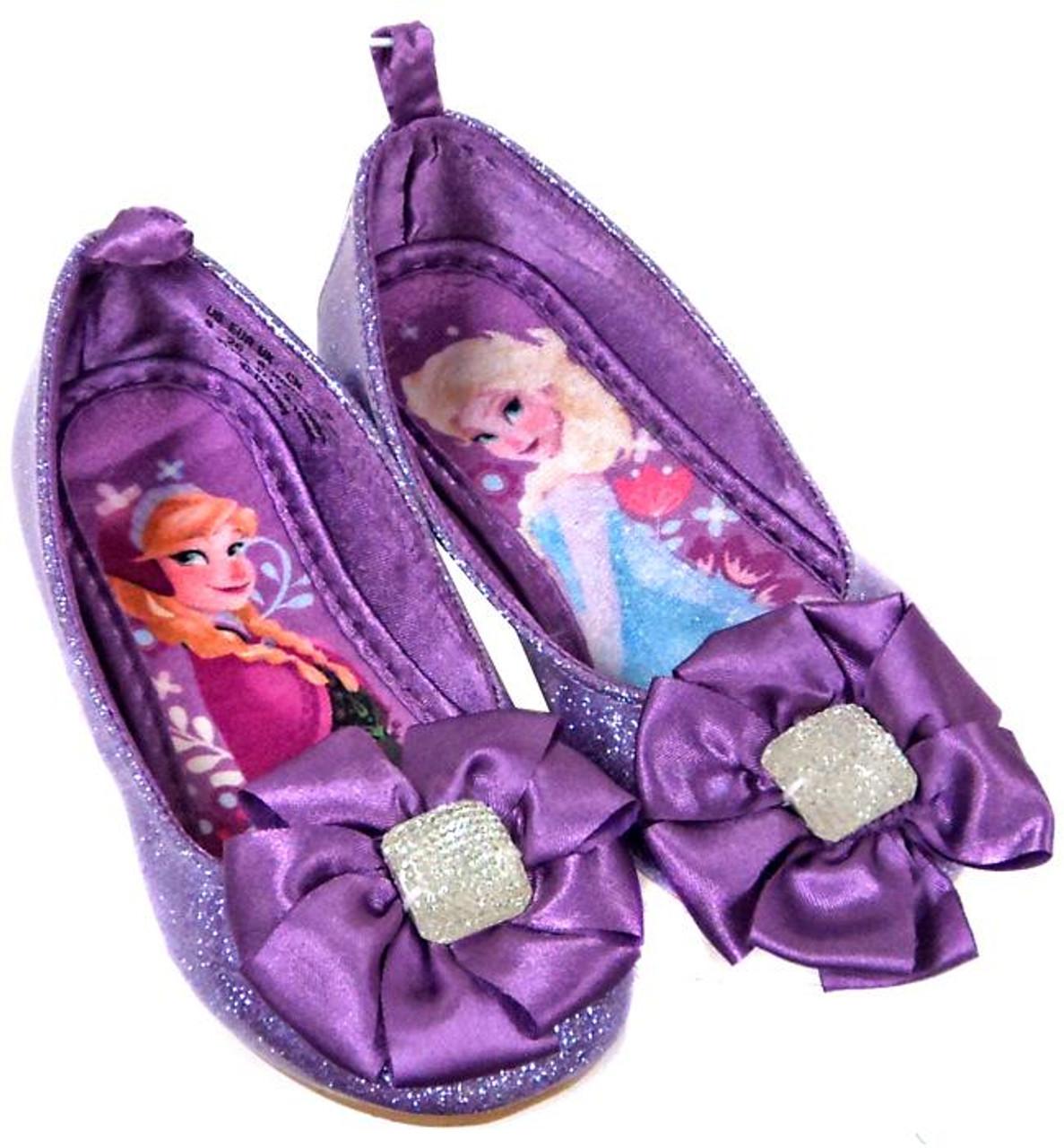Disney Frozen Purple Anna & Elsa Exclusive Dress Up Toy [Size 8]