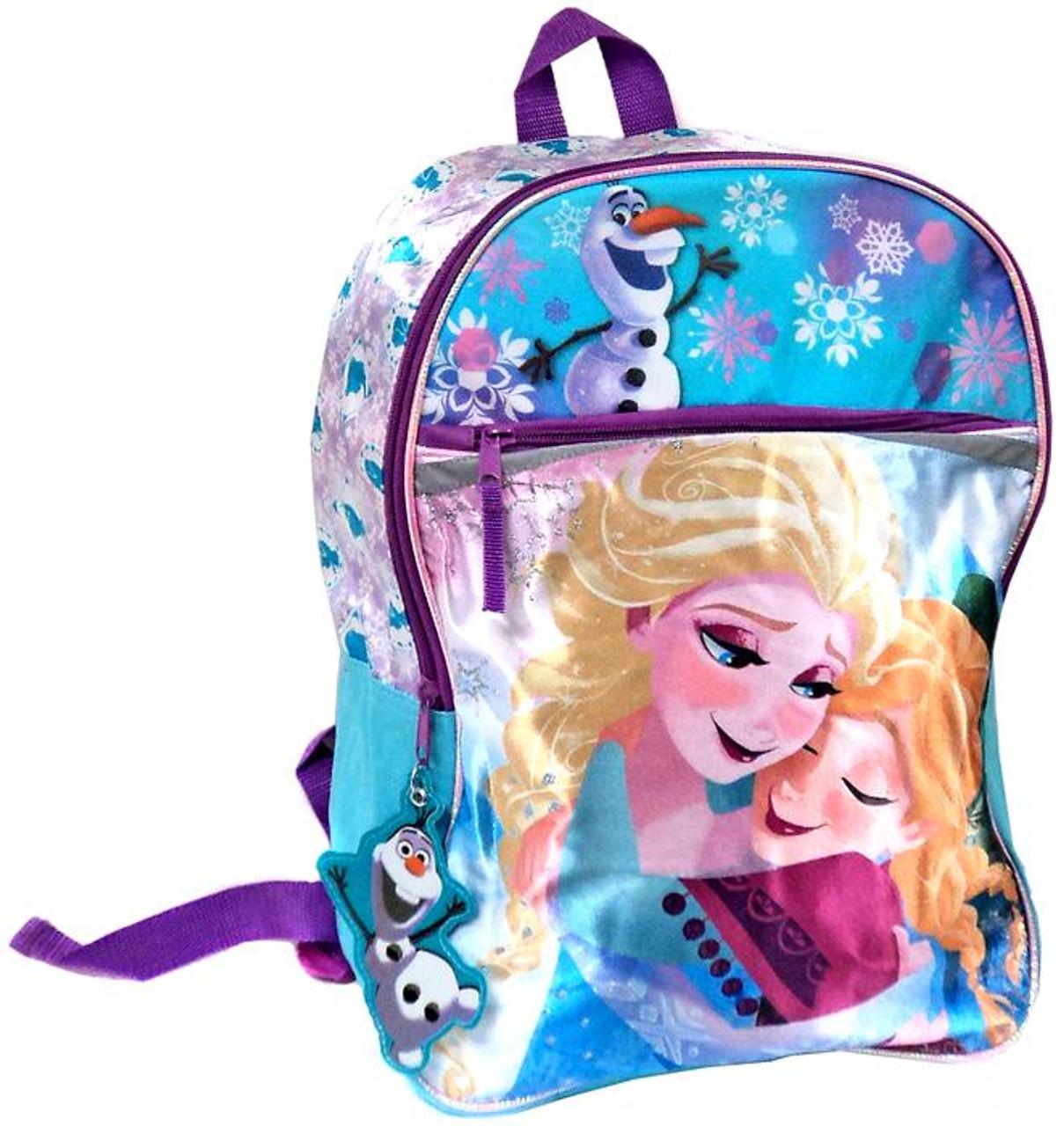 Disney Frozen Anna, Elsa & Olaf Backpack [Satin]