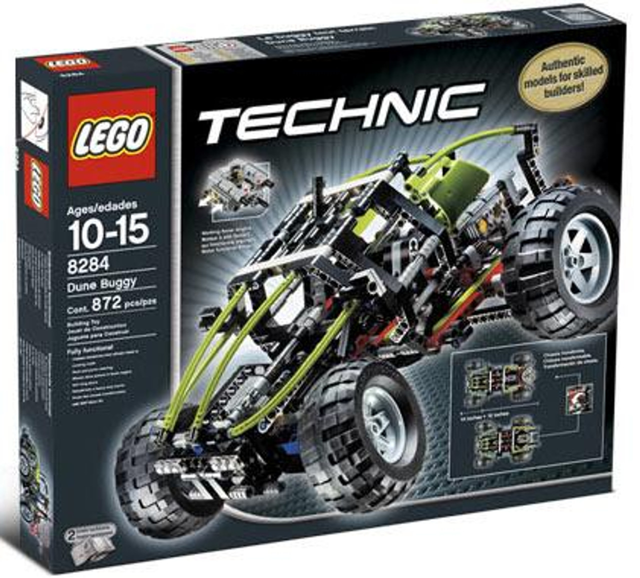 LEGO Technic Dune Buggy Set #8284 [Damaged Package]