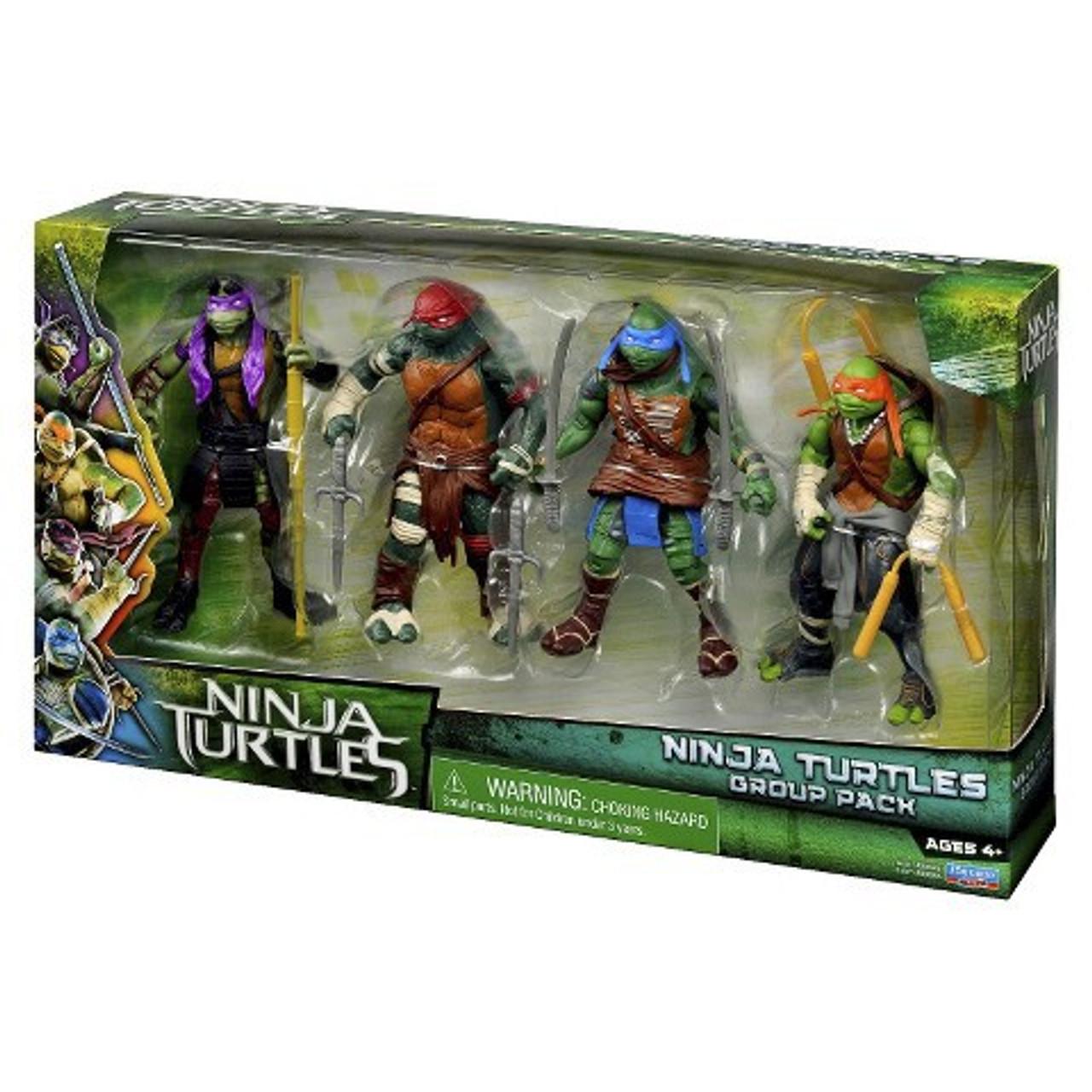 Teenage Mutant Ninja Turtles 2014 Movie Ninja Turtles Group Exclusive Action Figure 4-Pack