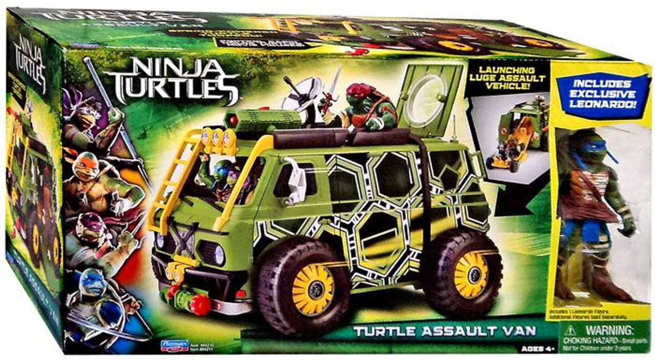 Where Can I Find Ninja Turtle Toys : Teenage mutant ninja turtles movie turtle assault van