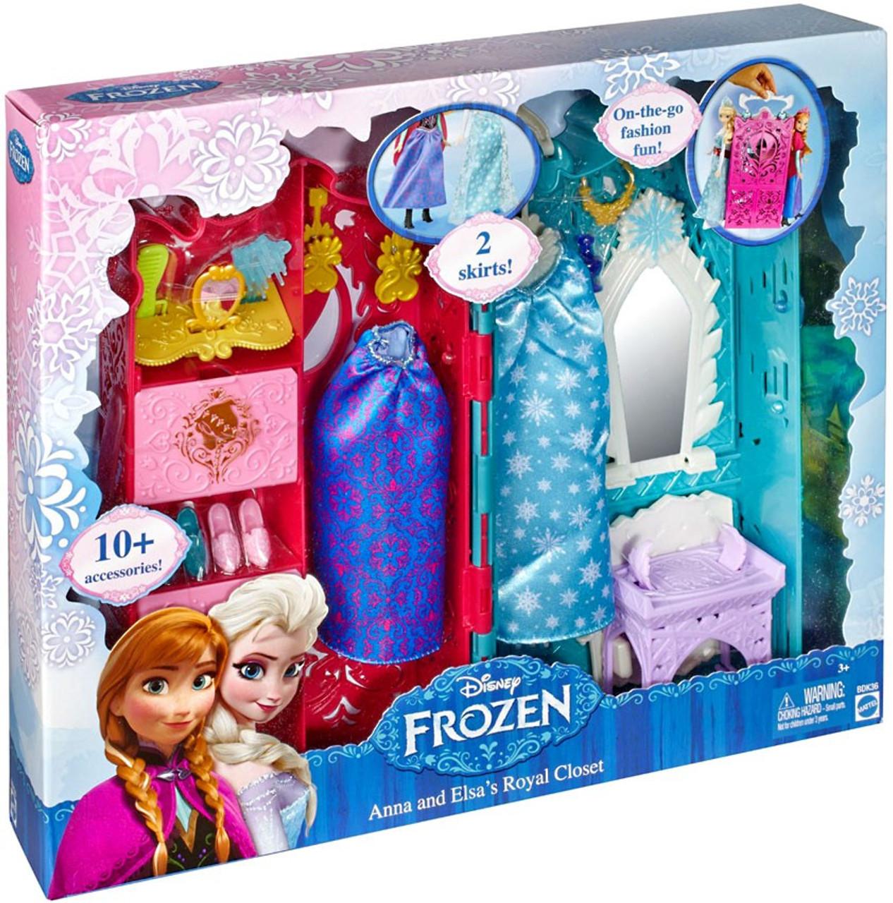 Disney Frozen Anna & Elsa's Royal Closet Playset