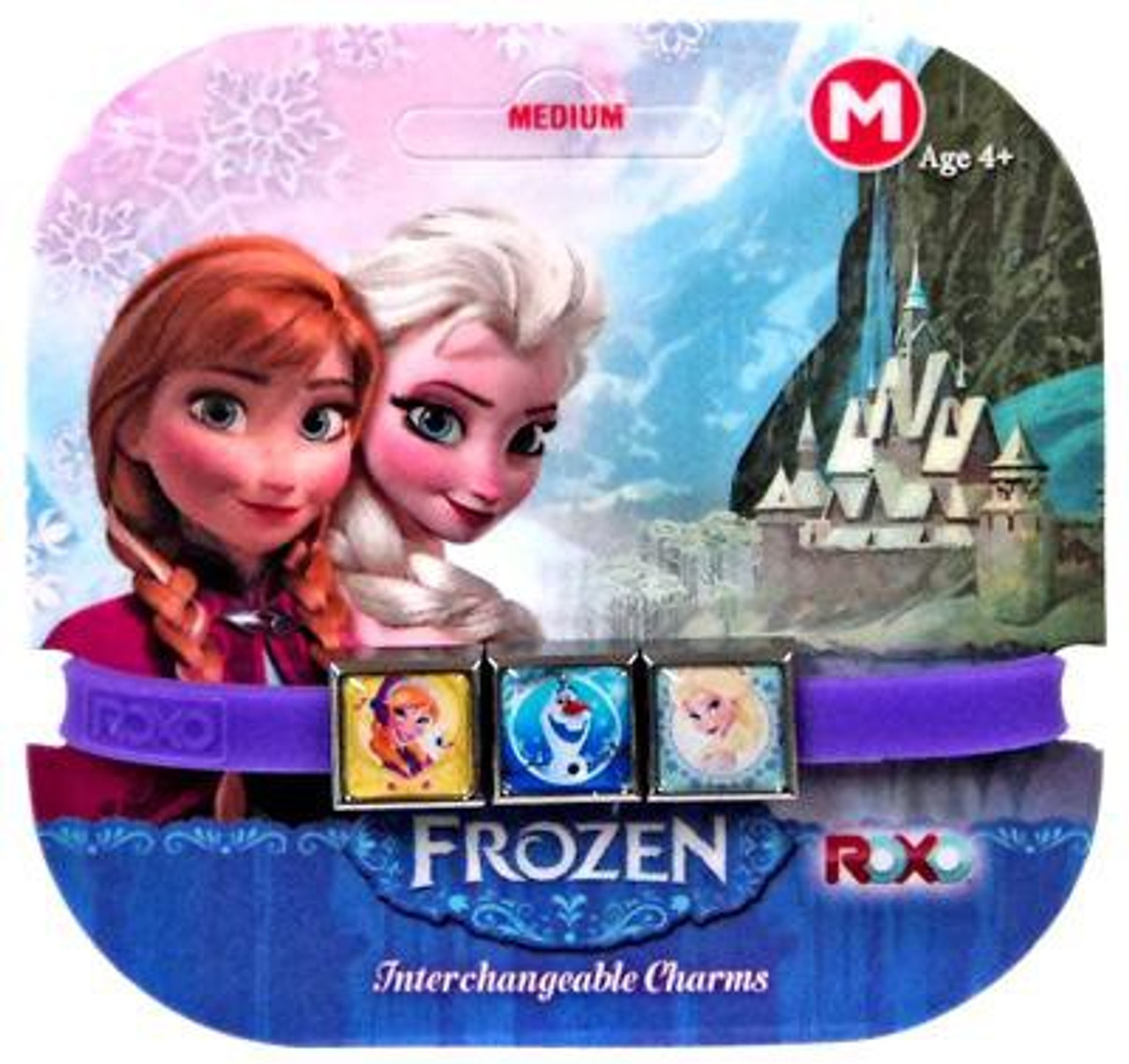 Disney Frozen Anna, Elsa & Olaf Charm Bracelet [Medium]