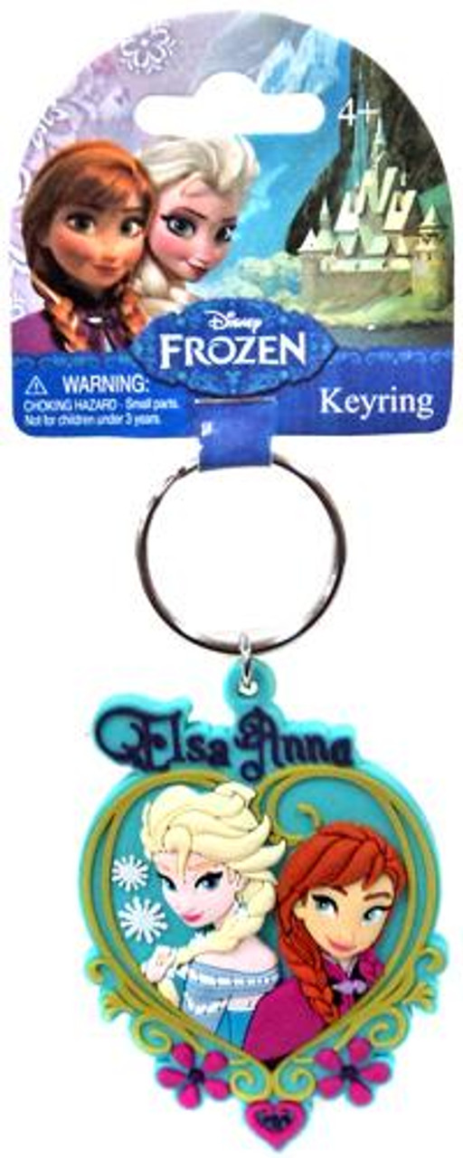 Disney Frozen Anna & Elsa Keychain