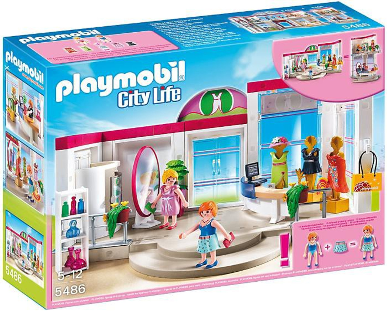 Playmobil City Life Clothing Boutique Set #5486
