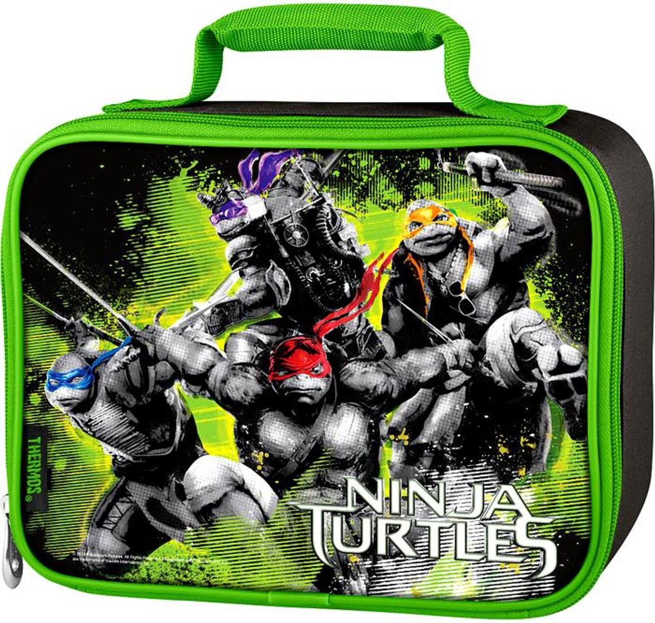 2014 Movie Teenage Mutant Ninja Turtles Lunch Tote [Insulated]