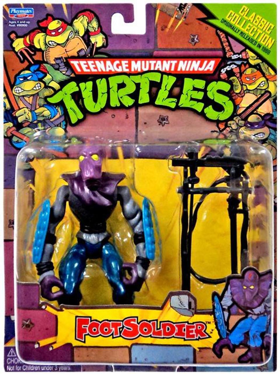 Teenage Mutant Ninja Turtles 1987 Retro Foot Soldier Action Figure
