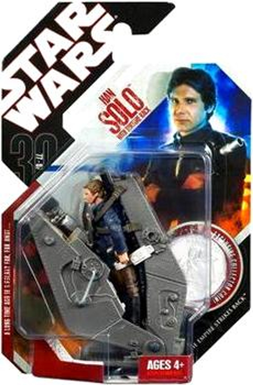 Star Wars Empire Strikes Back 30th Anniversary 2007 Wave 6 Han Solo with Bespin Torture Rack Action Figure #38