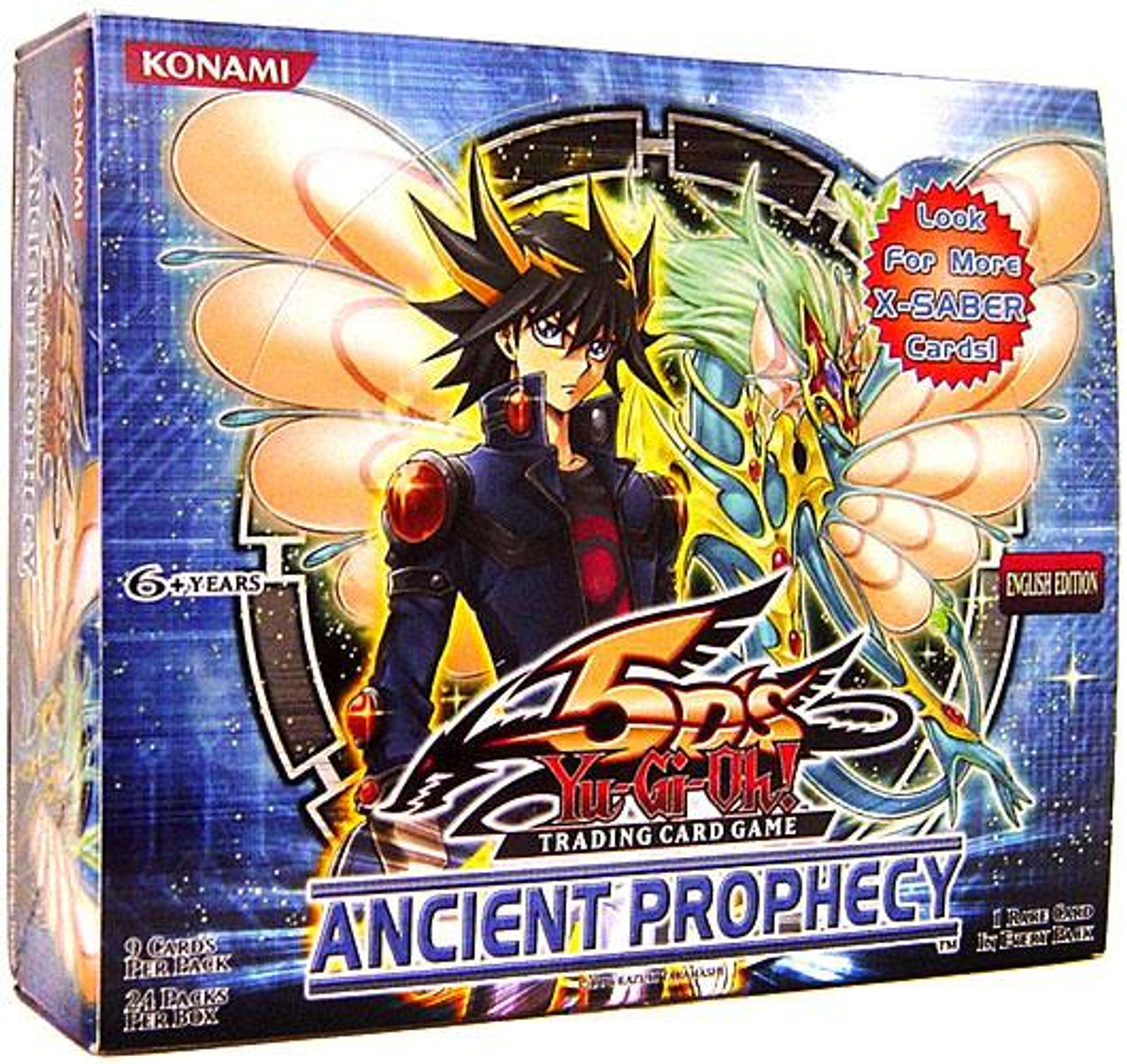 YuGiOh Ancient Prophecy Booster Box [24 Packs] [Sealed]