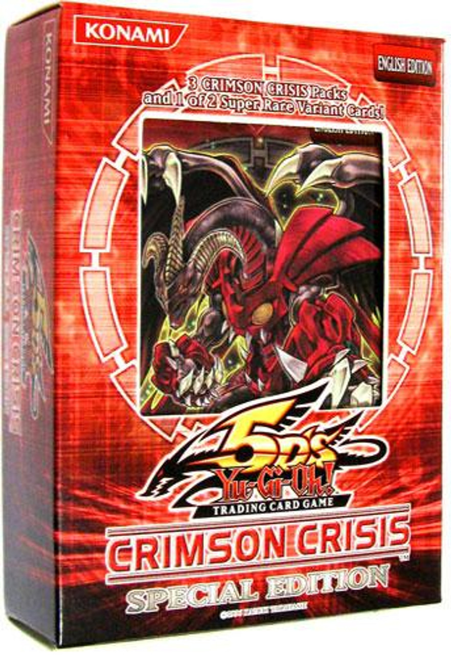 YuGiOh Crimson Crisis Special Edition Pack [3 Booster Packs & 1 Random Promo Card] [Sealed]