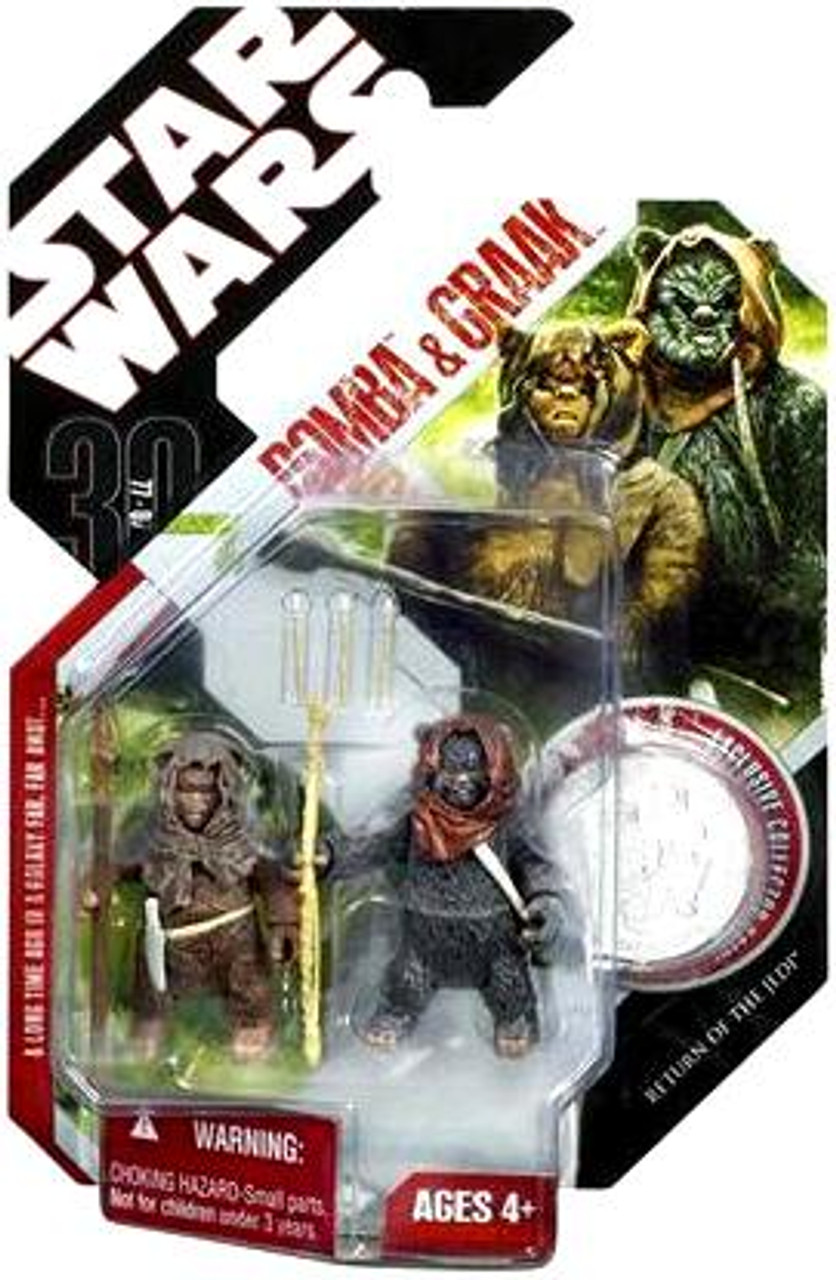 Star Wars Return of the Jedi 30th Anniversary 2007 Wave 7 Romba & Graak Action Figure 2-Pack #43