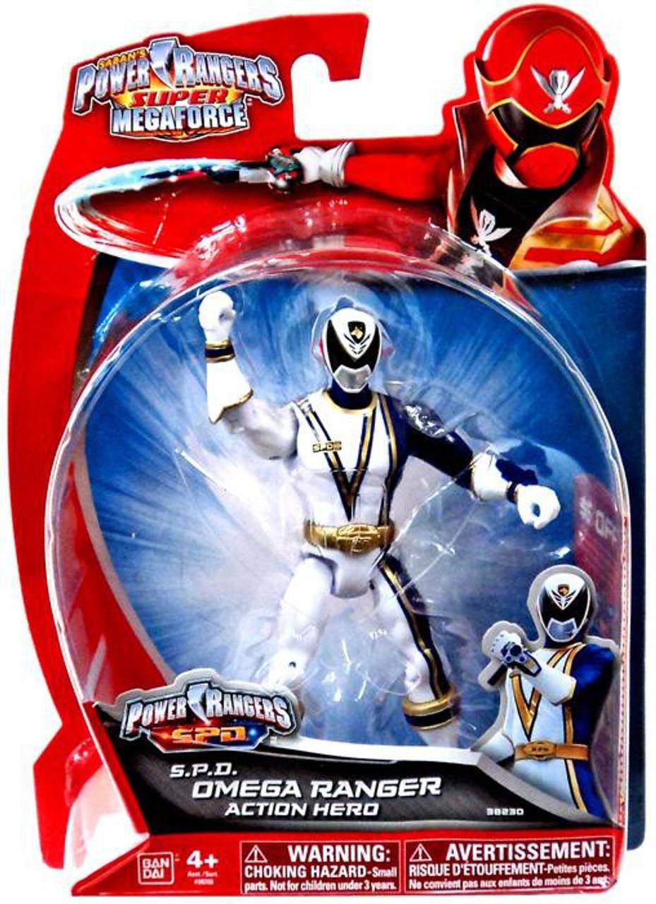 Power Rangers Super Megaforce S.P.D. Omega Ranger Action Figure