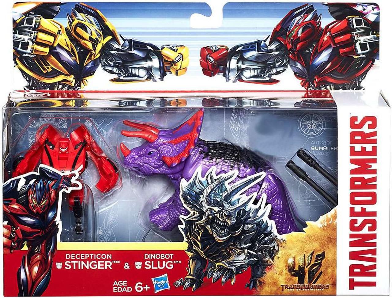 Transformers Age of Extinction Decepticon Stinger Dinobot ...