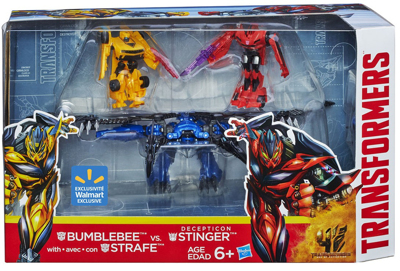 Transformers Age of Extinction Bumblebee Strafe Vs ...