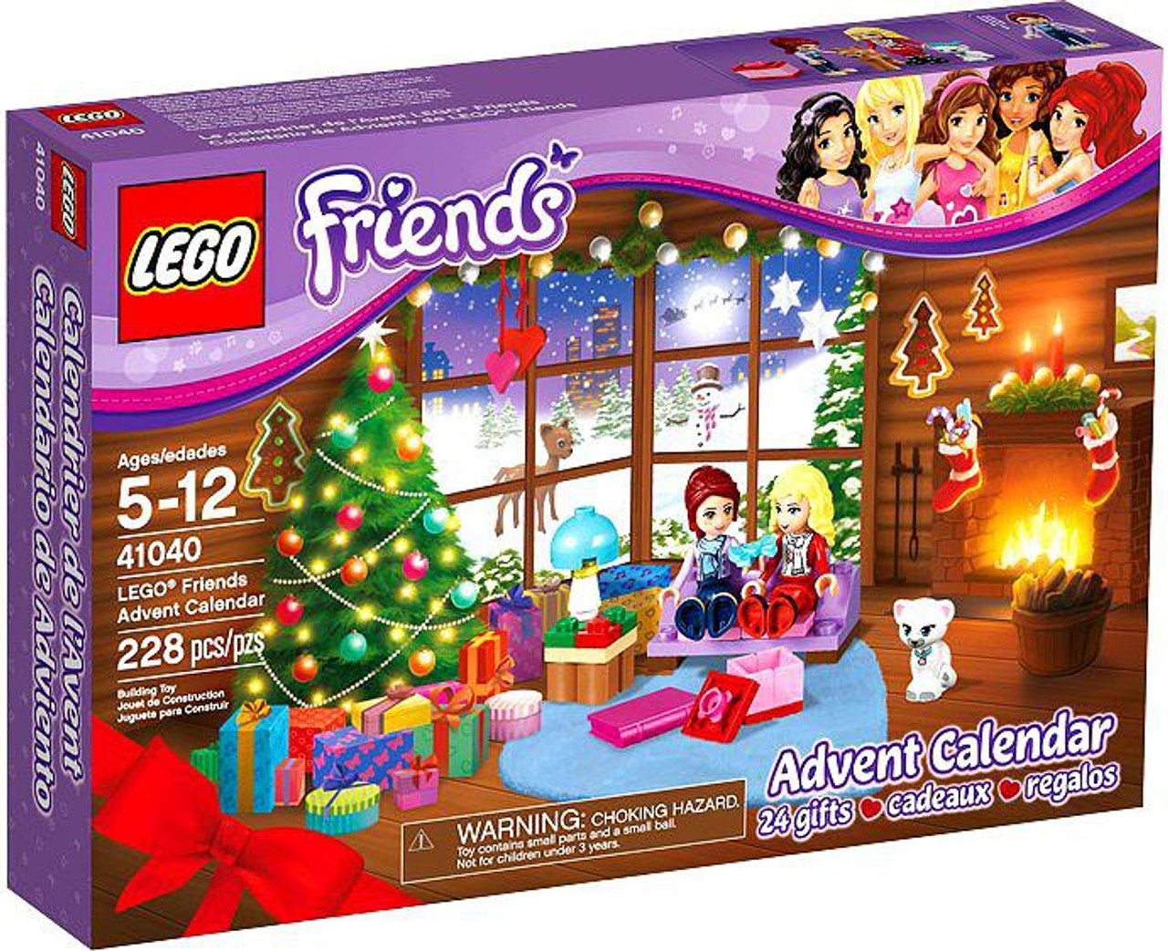 LEGO 2014 Friends Advent Calendar Set #41040
