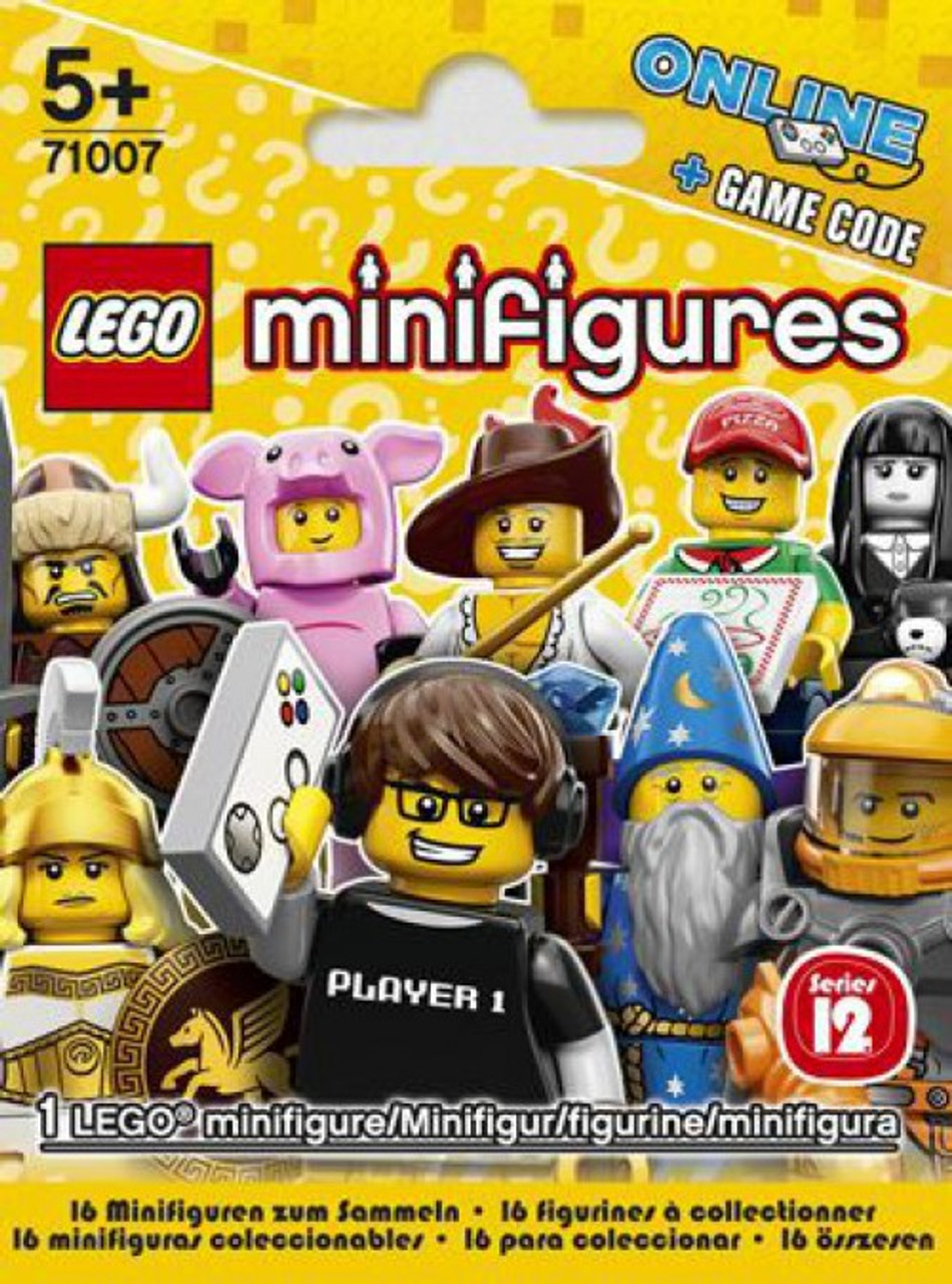 Lego Minifigures Series 12 Mystery Pack Toywiz