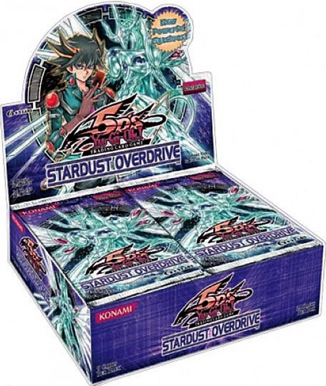 YuGiOh Stardust Overdrive Booster Box [24 Packs] [Sealed]
