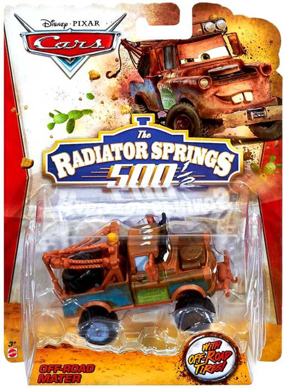 cars radiator springs 500 1 //2 playset canopy