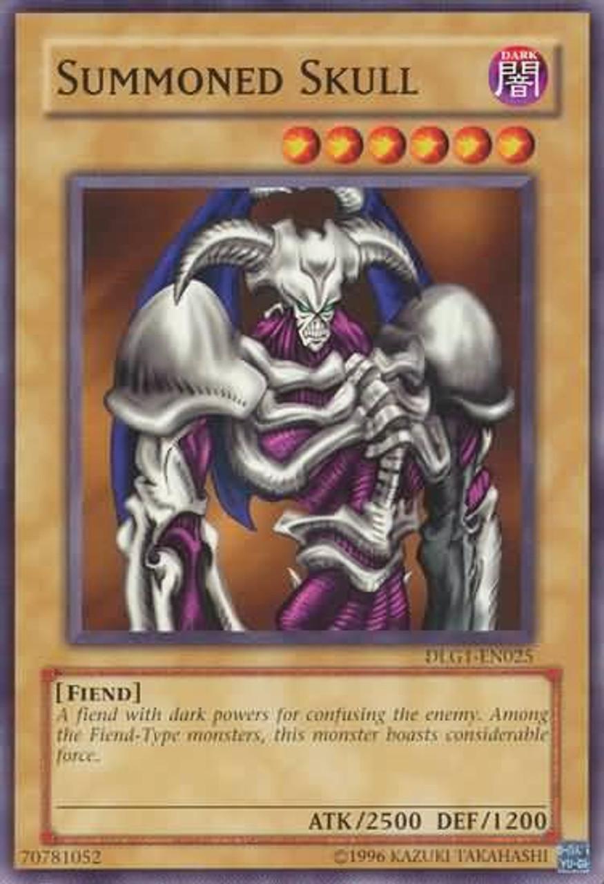 YuGiOh Dark Legends Common Summoned Skull DLG1-EN025