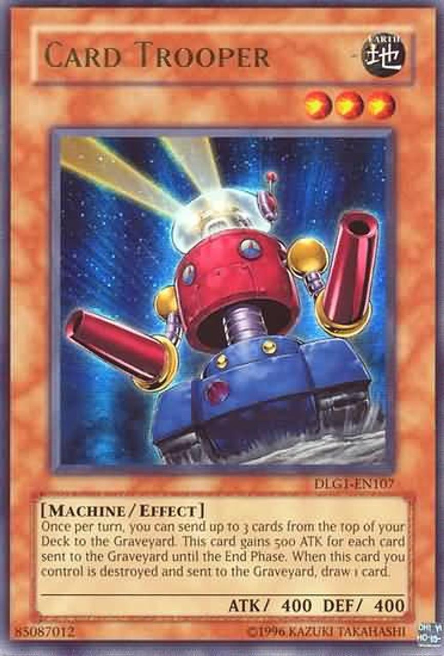 YuGiOh Dark Legends Ultra Rare Card Trooper DLG1-EN107