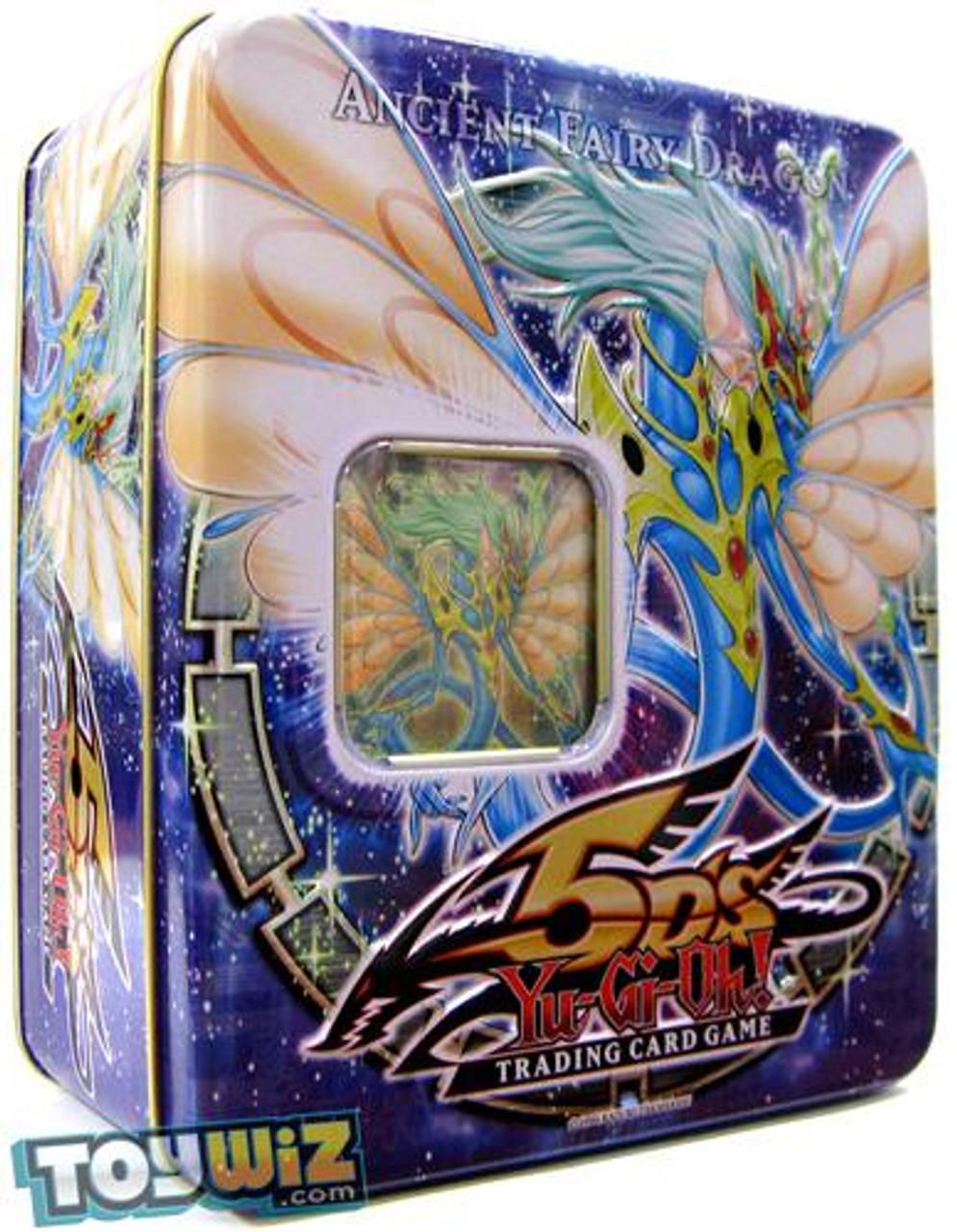 YuGiOh 5D's 2009 Collector Tin Ancient Fairy Dragon Collector Tin [Sealed]