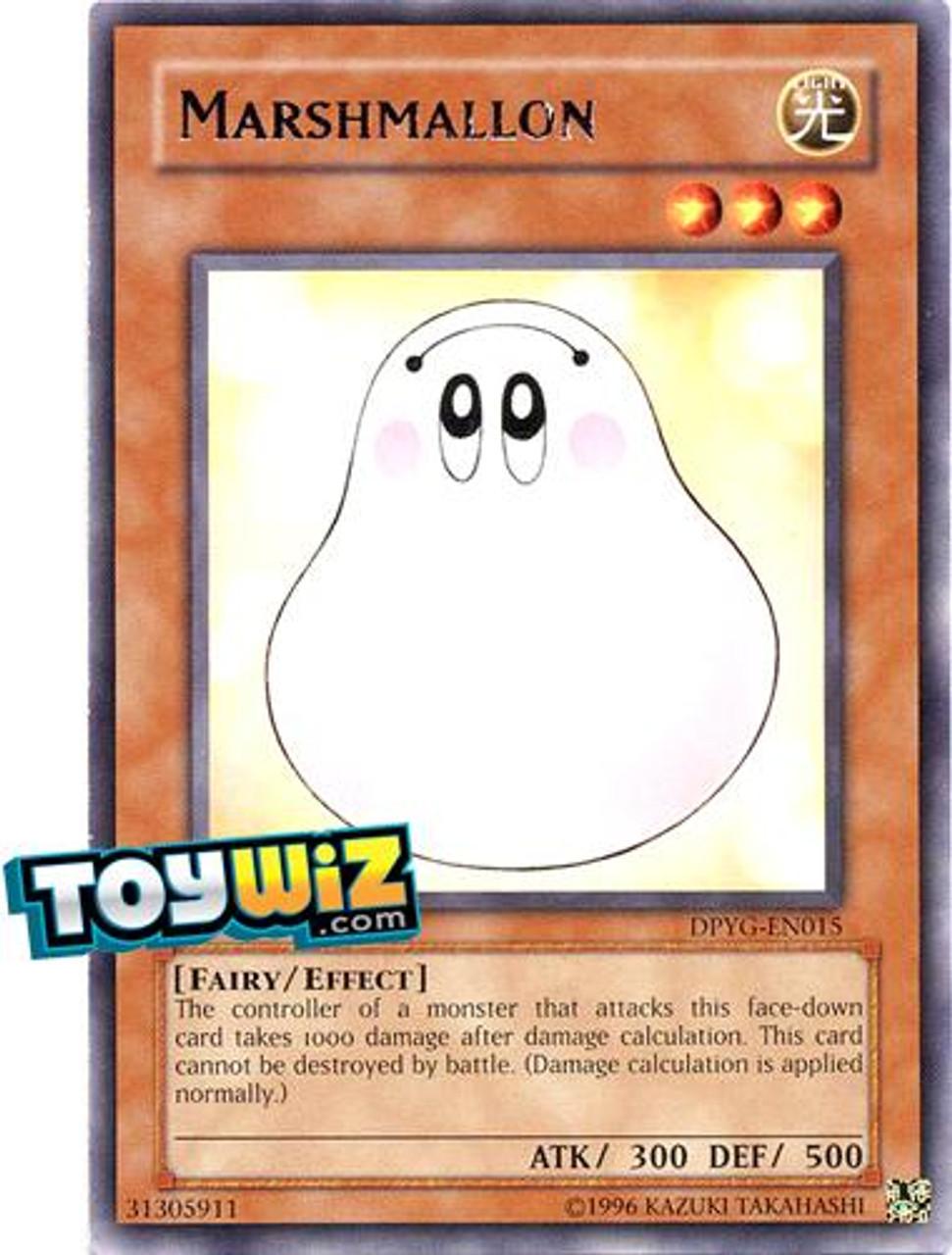 YuGiOh Duelist Pack Yugi Rare Marshmallon DPYG-EN015