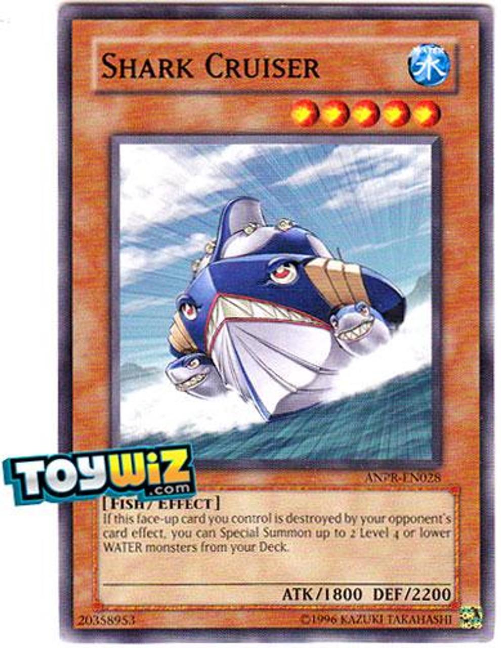 YuGiOh Ancient Prophecy Common Shark Cruiser ANPR-EN028
