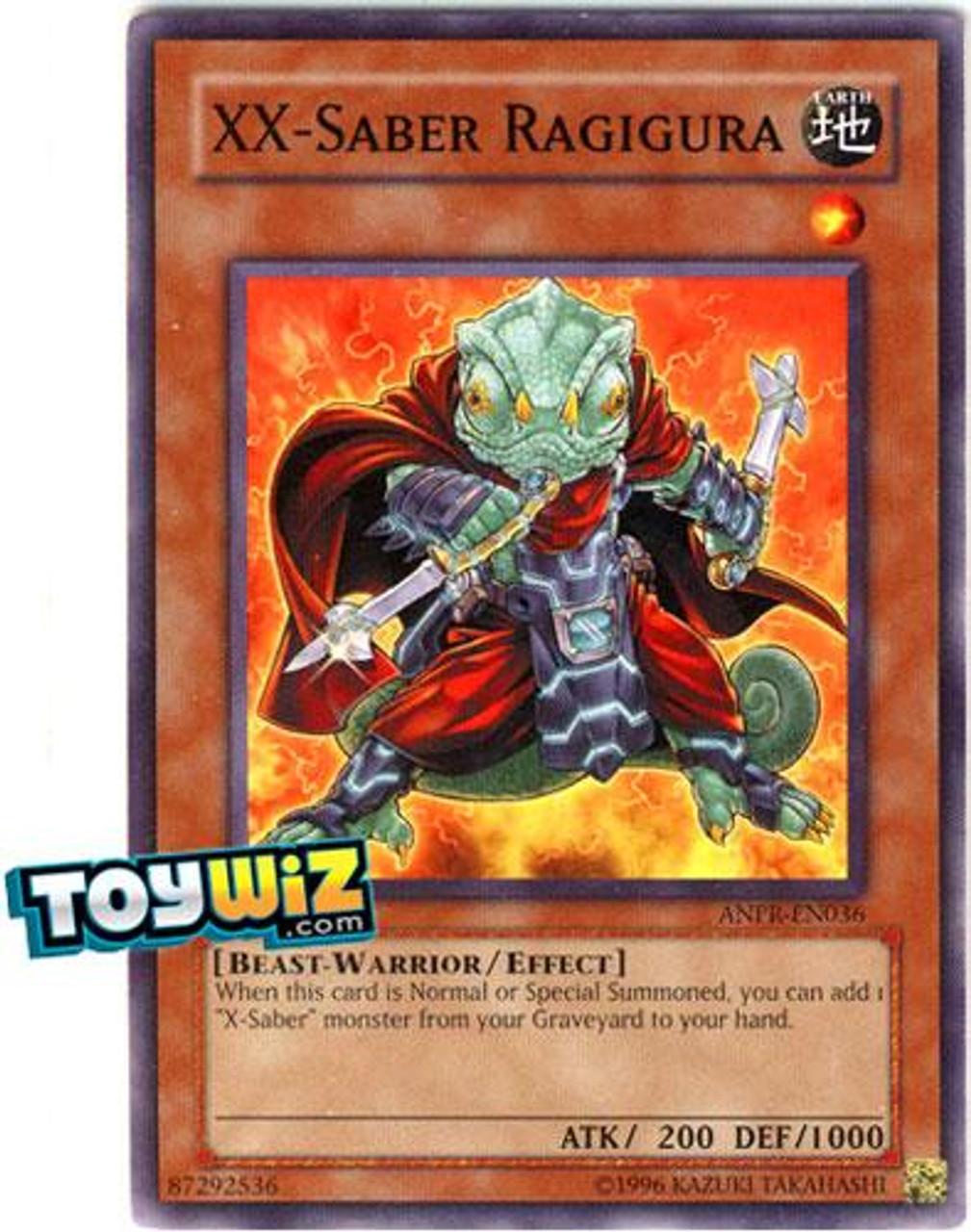 YuGiOh Ancient Prophecy Common XX-Saber Ragigura ANPR-EN036