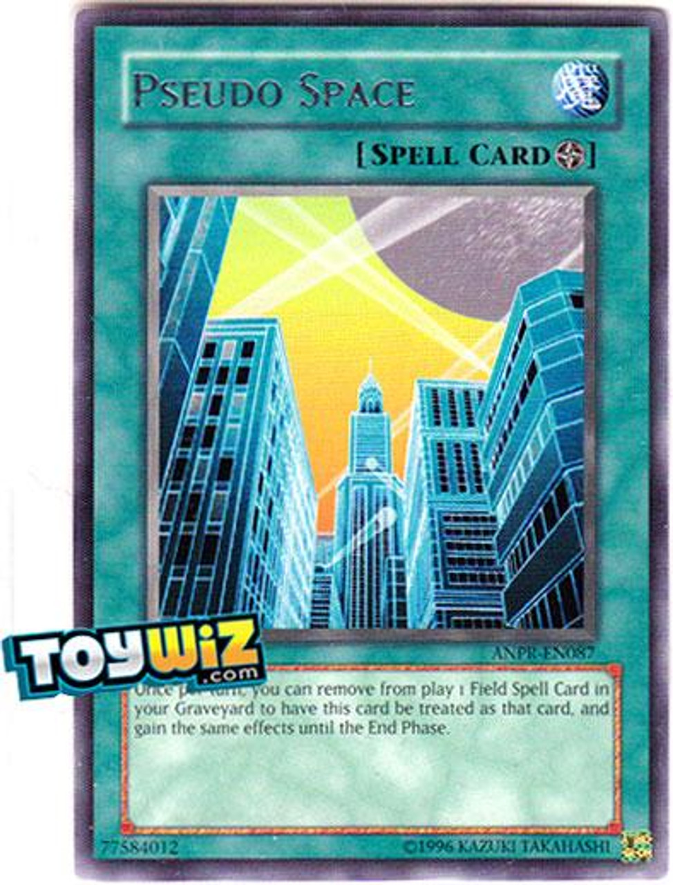 YuGiOh Ancient Prophecy Rare Pseudo Space ANPR-EN087