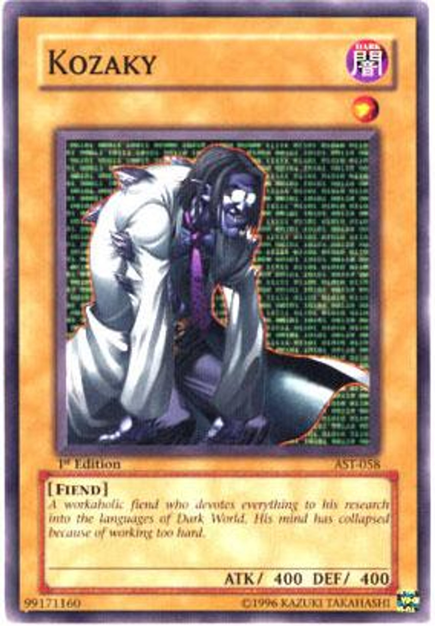 YuGiOh Ancient Sanctuary Common Kozaky AST-058