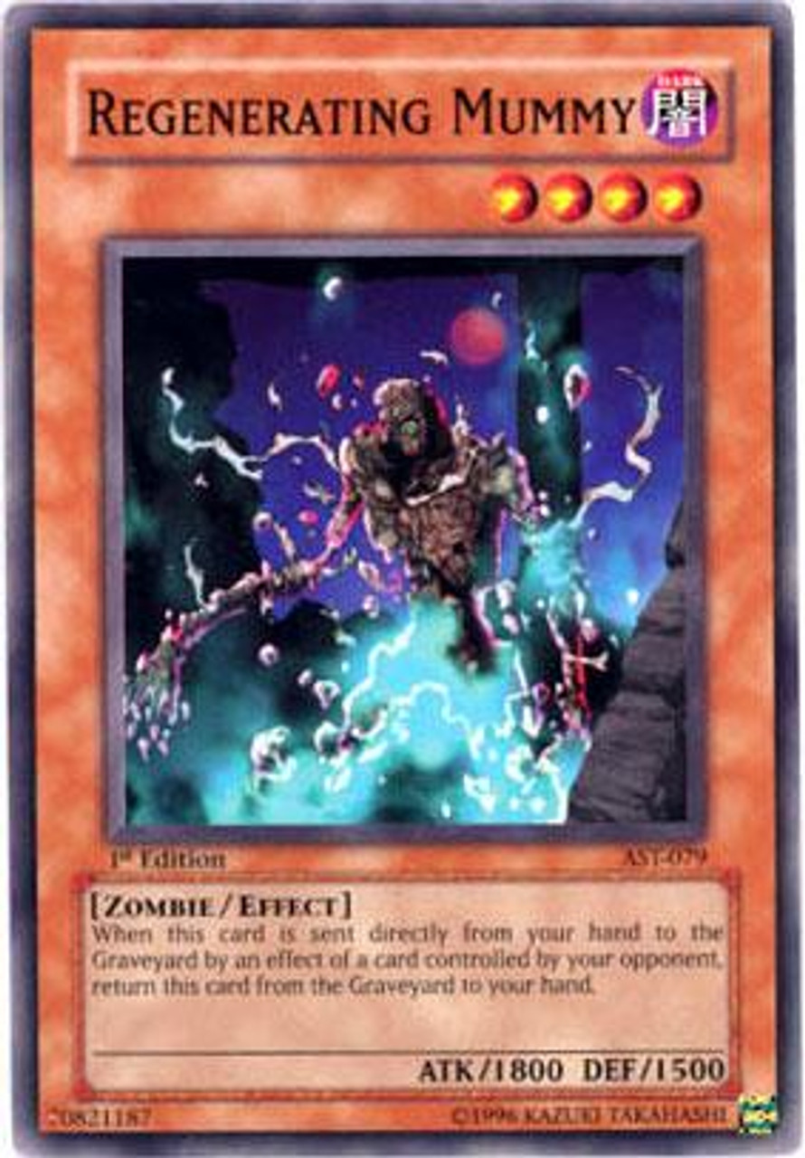 YuGiOh Ancient Sanctuary Common Regenerating Mummy AST-079