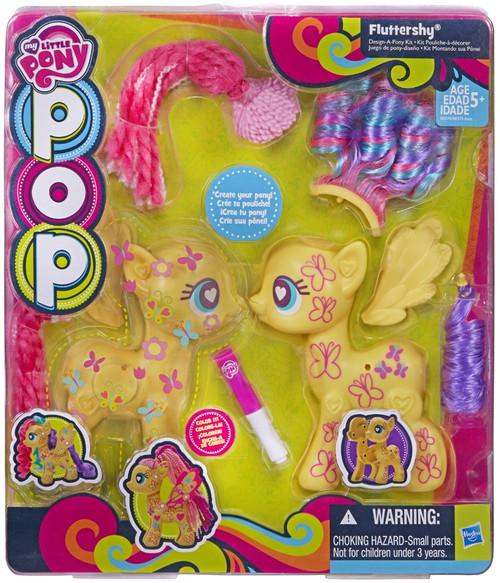 my little pony pop create a pony fluttershy starter kit