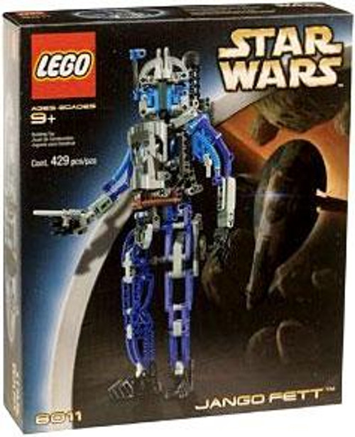 LEGO Star Wars The Clone Wars Jango Fett Set #8011 [Damaged Package]
