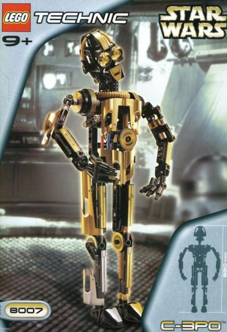 LEGO Star Wars The Phantom Menace Technic C-3PO Set #8007