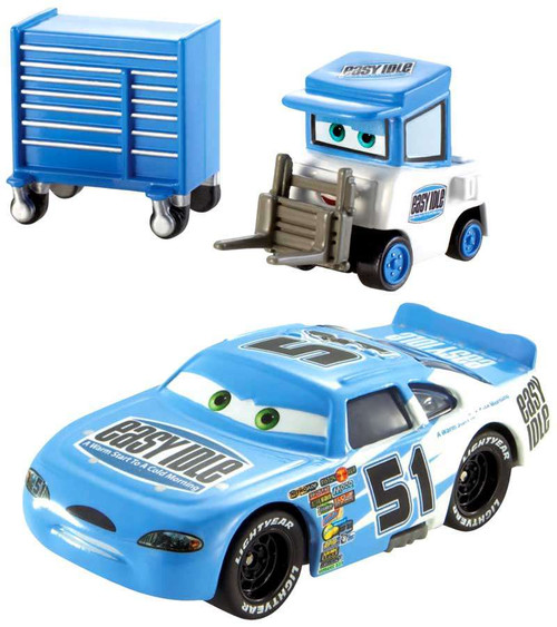 Disney Cars Piston Cup Ruby Easy Oaks Easy Idle Pitty 155