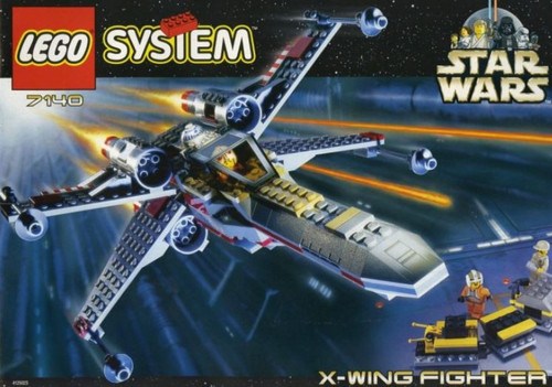 LEGO Star Wars A New Hope X-Wing Fighter Set #7140