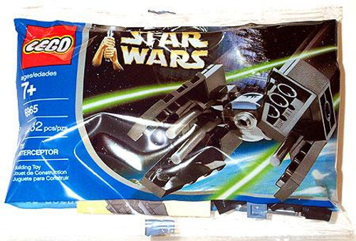 LEGO Star Wars Return of the Jedi TIE Interceptor Mini Set #6965 [Bagged]