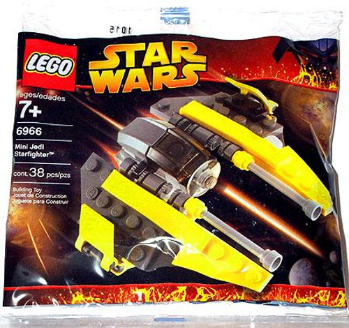LEGO Star Wars Revenge of the Sith Jedi Starfighter Mini Set #6966 [Bagged]