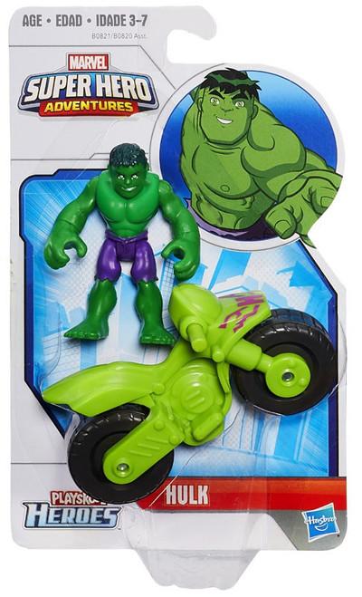 Marvel Playskool Heroes Super Hero Adventures Hulk Action