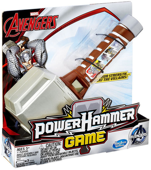 Hammer Game Toy : Marvel avengers initiative thor power hammer game